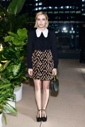 Emma Roberts - Chloe x MOCA Dinner in Los Angeles 09/19/2017