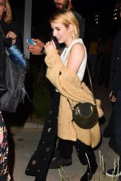 Emma Roberts - Harry Styles Concert in Los Angeles 09/21/2017