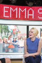 Emma Stone Appeared on Today - Season 66 in NYC 09/21/2017