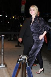 Emma Stone - Arriving at SVA Theater in NYC 09/19/2017
