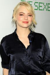 """Emma Stone - """"Battle Of the Sexes"""" Screening in NYC 09/19/2017"""