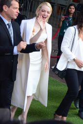 """Emma Stone - Leaves Her TIFF Premiere of """"Battle of the Sexes"""" in Toronto 09/10/2017"""