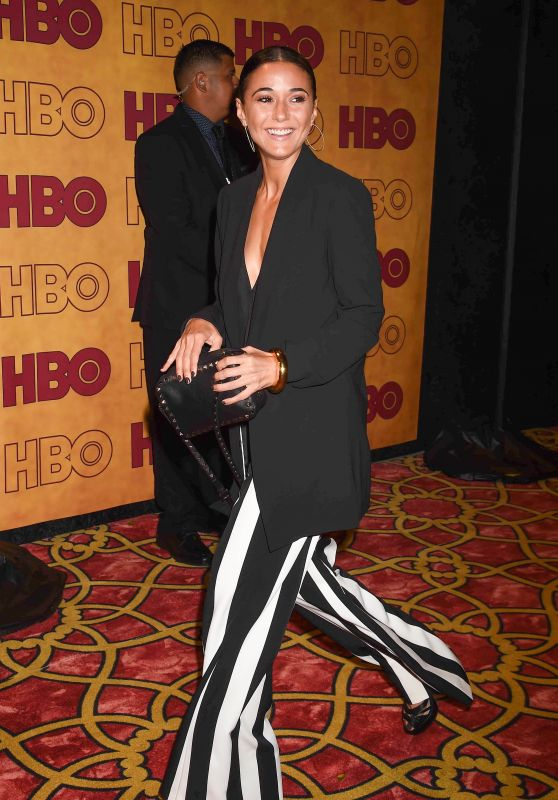 Emmanuelle Chriqui – HBO's Post Emmy Awards Party in LA 09/17/2017