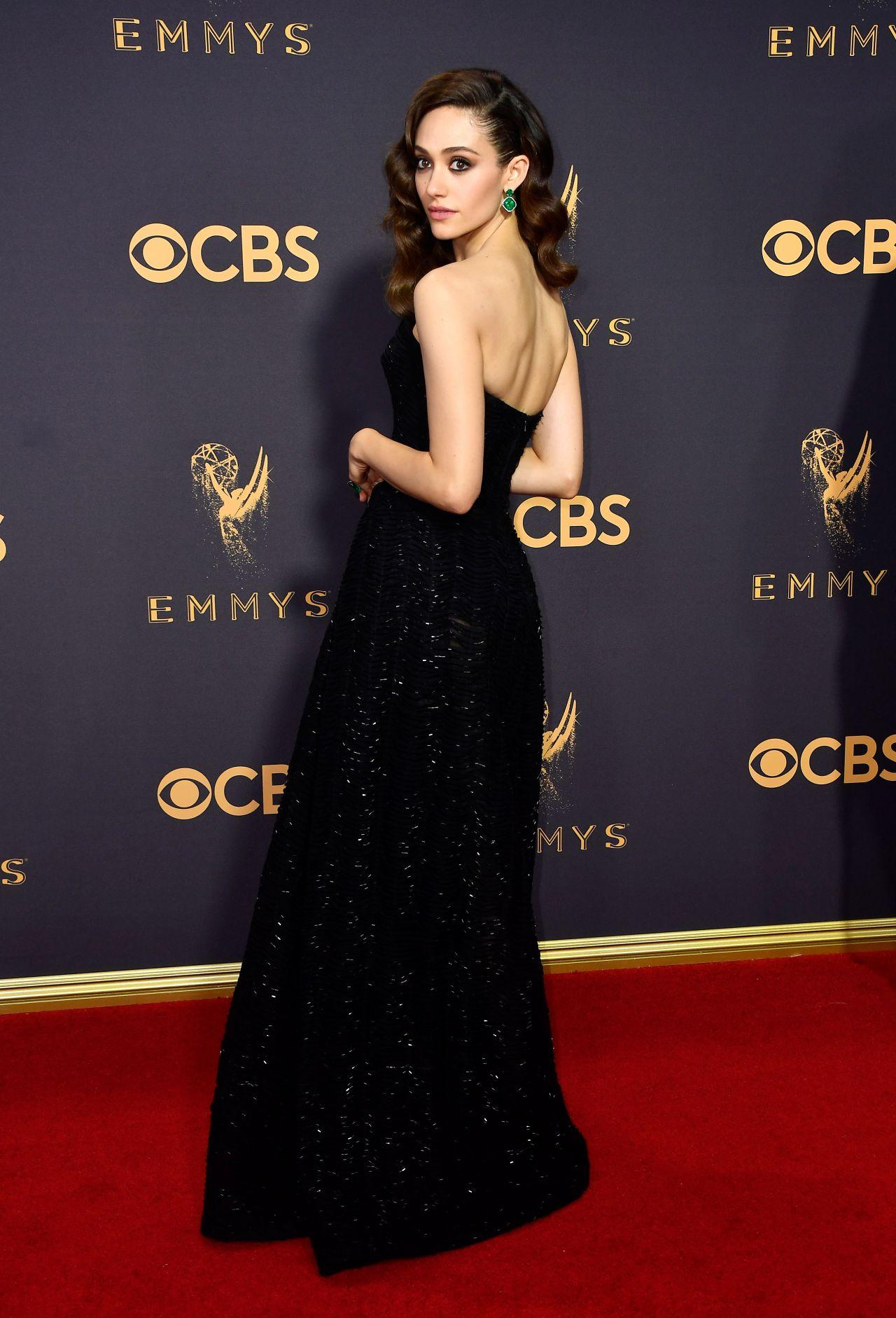 Emmy Rossum Emmy Awards In Los Angeles 09 17 2017