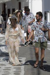 Eva Longoria - Enojyed a Shopping Day at Mykonos Town 09/08/2017