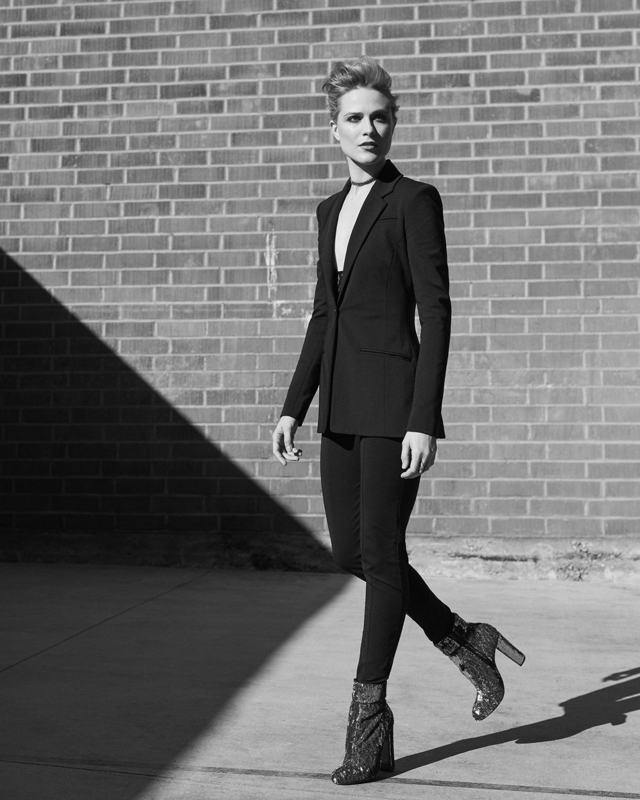 Evan Rachel Wood -  Photoshoot for WWD, September 2017