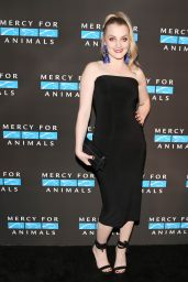 Evanna Lynch - Mercy For Animals Annual Hidden Heroes Gala, NYC 09/23/2017