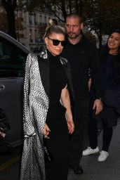Fergie - Paris Fashion Week 09/28/2017