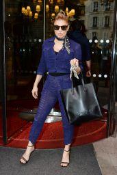 Fergie Style - Paris, France 09/28/2017
