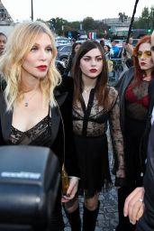 Frances Bean Cobain – Saint Laurent Fashion Show in Paris 09/26/2017