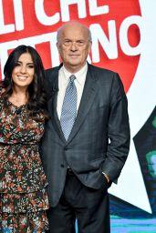 "Francesca Brianza - ""Those Who Kick"" TV Show in Milan, Italy 09/10/2017"