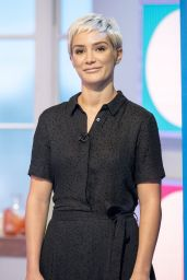 "Frankie Bridge - ""Lorraine"" TV Show in London 09/22/2017"