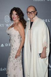 Gabriella Dompe – amfAR Gala Milano Red Carpet in Milan, Italy 09/21/2017