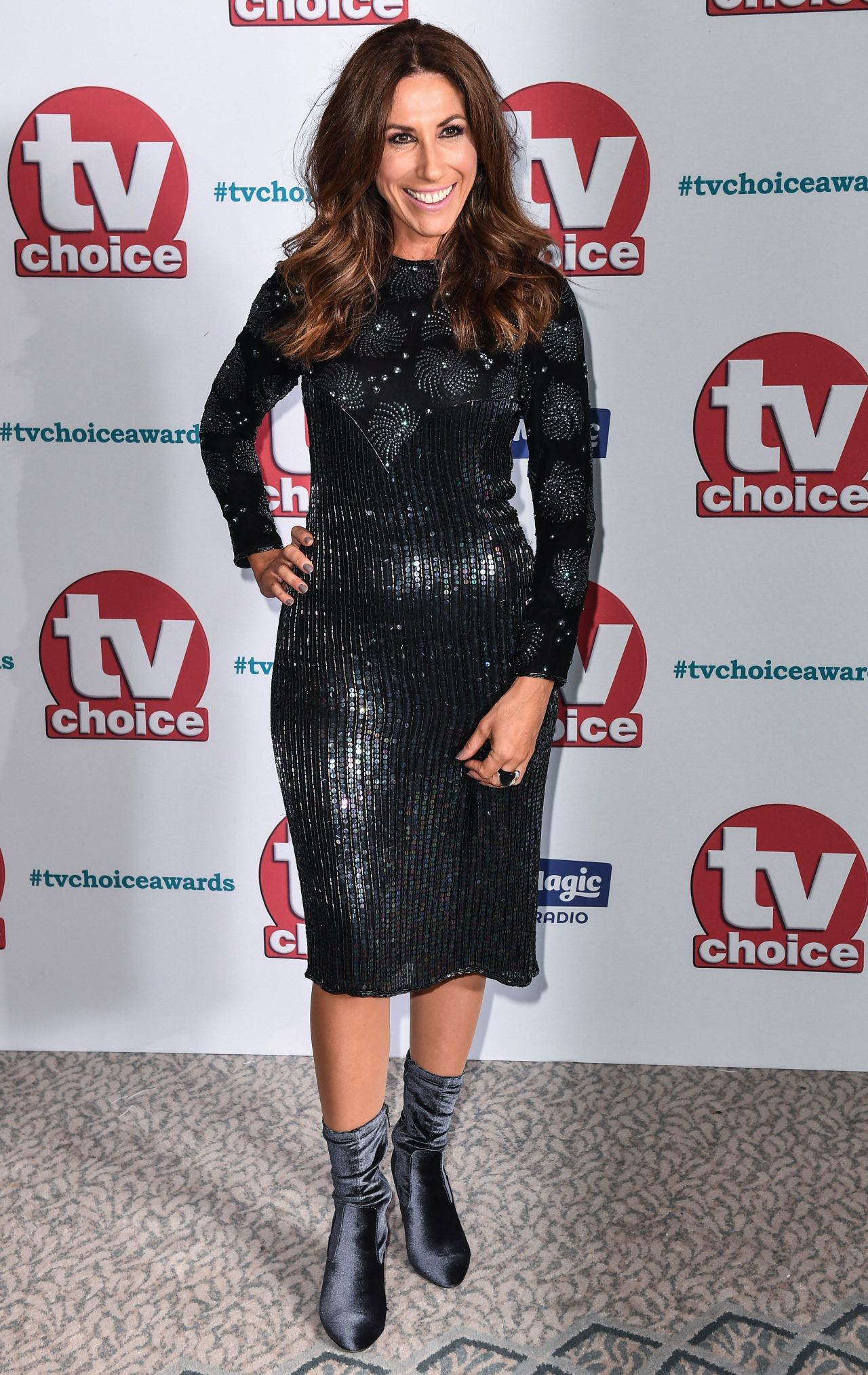 Gaynor Faye – TV Choice Awards 2017 in London