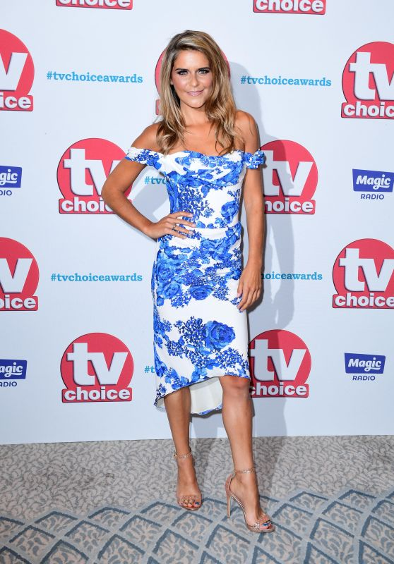 Gemma Oaten – TV Choice Awards 2017 in London