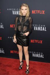 """Genevieve Hannelius – """"American Vandal"""" TV Show Special Screening in Los Angeles 09/14/2017"""