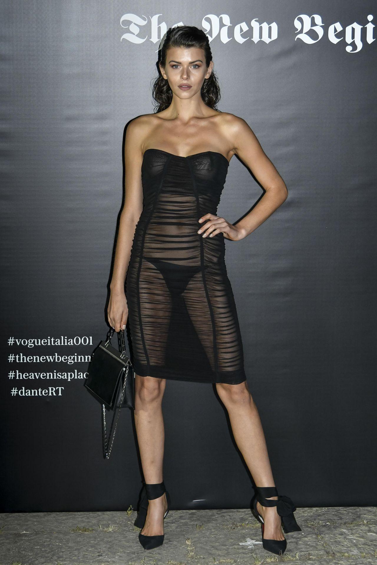Georgia Fowler - Vogue Italia Party in Milan 09/22/2017