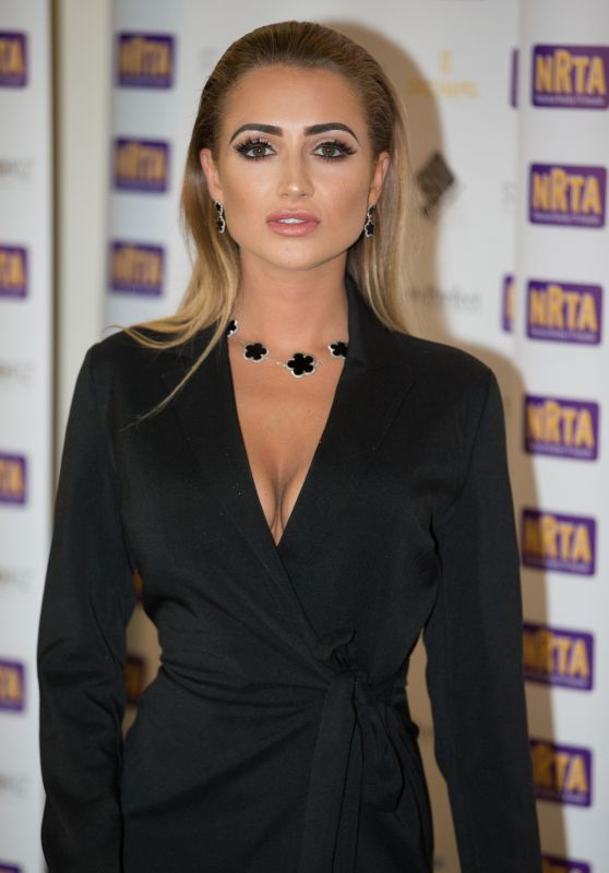 Georgia Harrison – National Reality Awards in London 09/18/2017