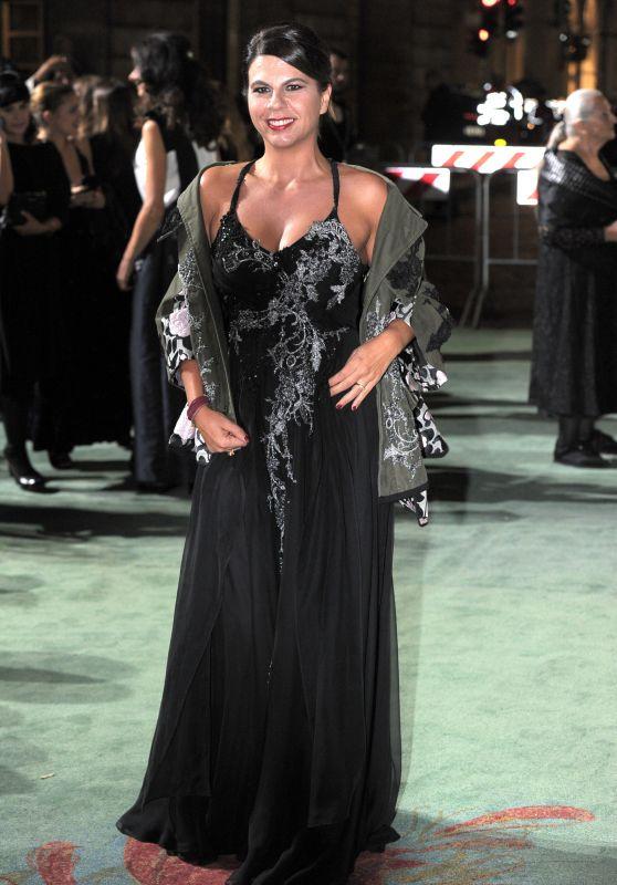 Geppi Cucciari – Green Carpet Fashion Awards, Italia 2017
