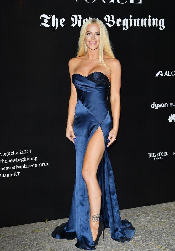 Gigi Gorgeous – Vogue Italia Party in Milan 09/22/2017