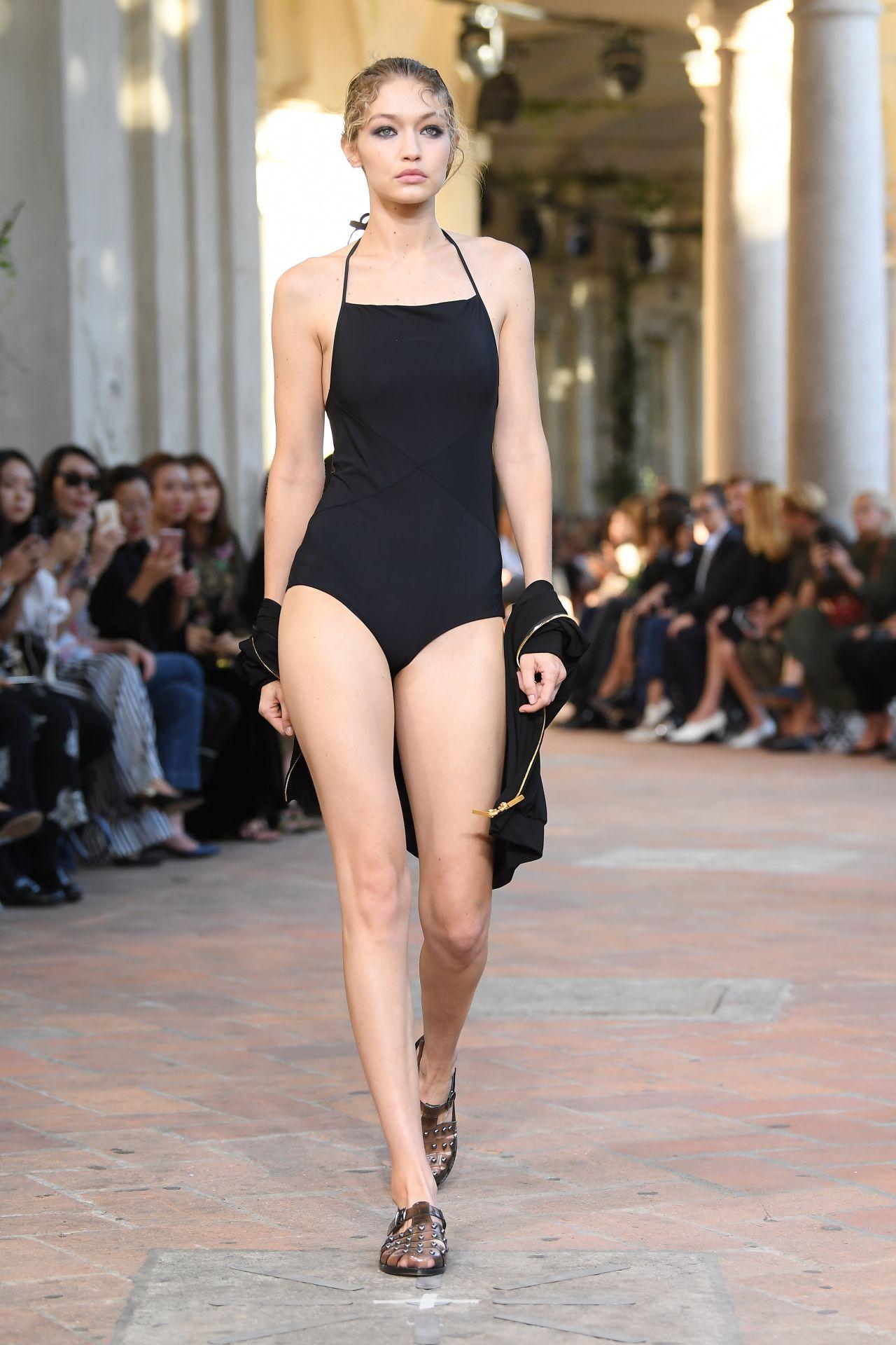 Gigi Hadid Walks Alberta Ferretti Show In Milan Italy 09