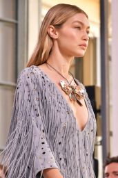 Gigi Hadid - Walks Bottega Veneta Show in Milan 09/23/2017