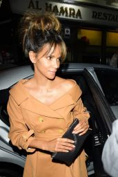 Halle Berry - Arrives at Love Magazine Party in London 09/19/2017