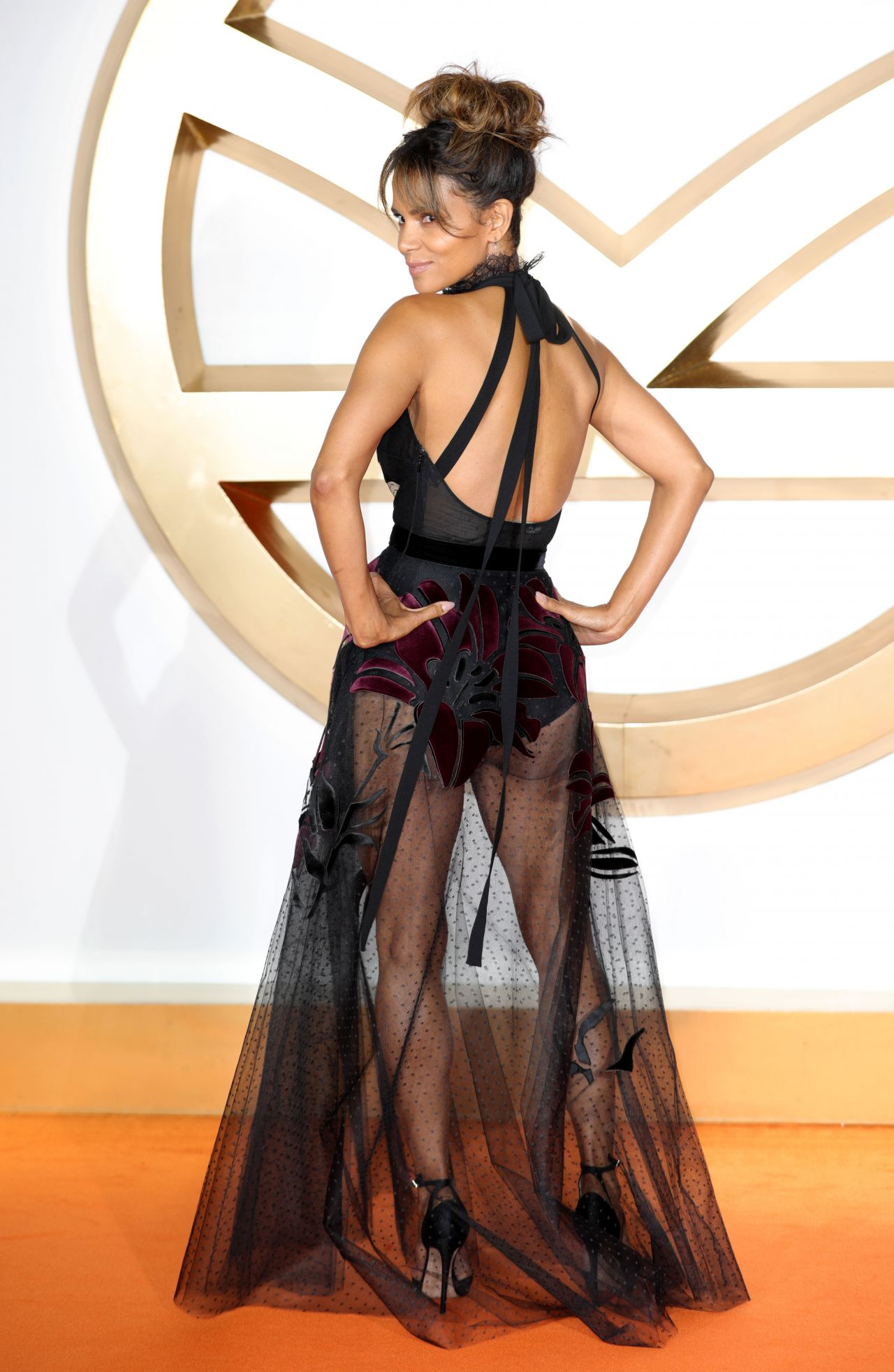 Halle Berry Kingsman The Golden Circle Premiere In