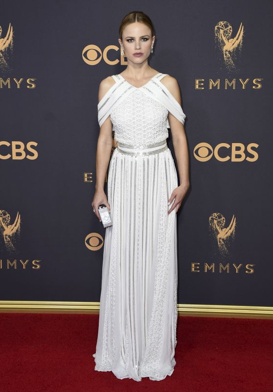 Halston Sage – Emmy Awards in Los Angeles 09/17/2017