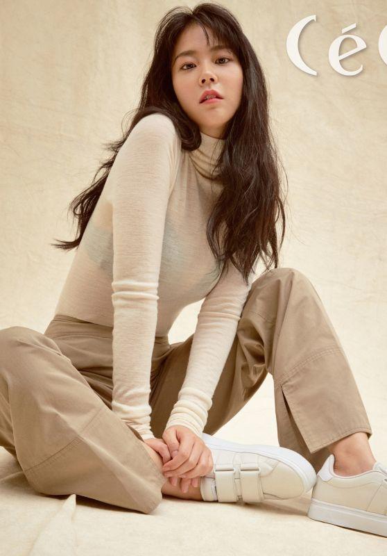 Han Seung Yeon - CeCi Magazine September 2017