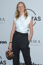 Hanne Gaby Odiele – UNITAS Gala Against Human Trafficking at NYFW in New York 09/12/2017