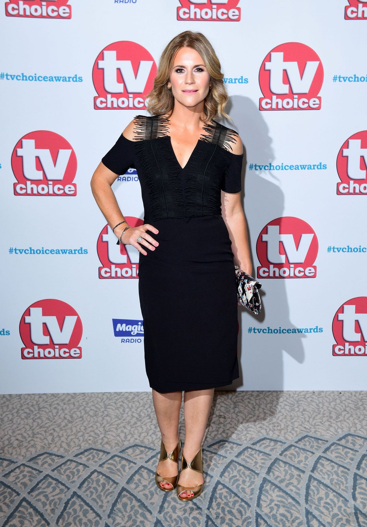 Harriet Scott – TV Choice Awards 2017 in London