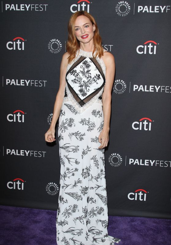 "Heather Graham - Paleyfest Fall TV Preview ""Law and Order True Crime The Melendez Murders"" in LA 09/11/2017"