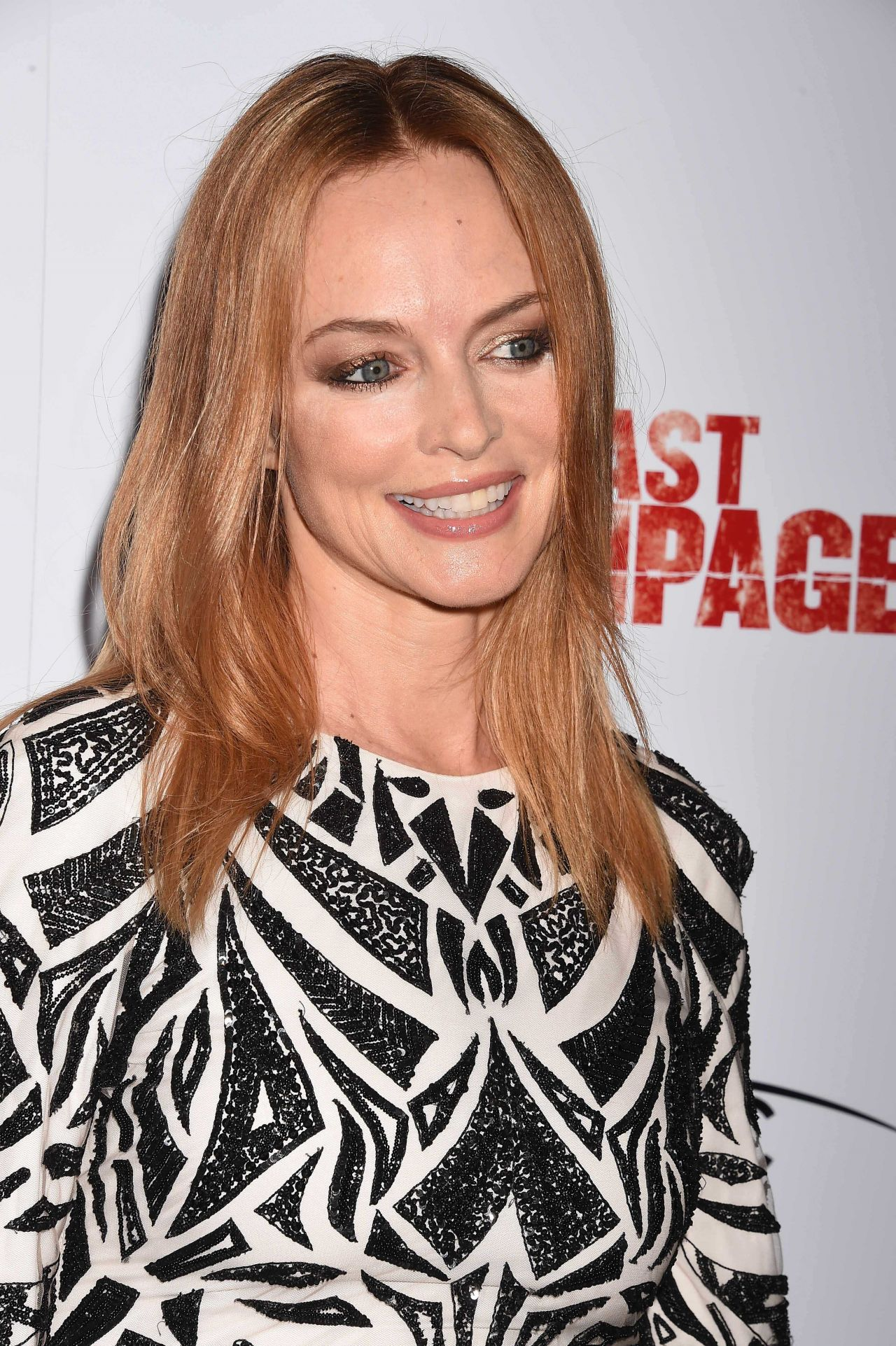 Heather Graham The Last Rampage Movie Premiere In Los