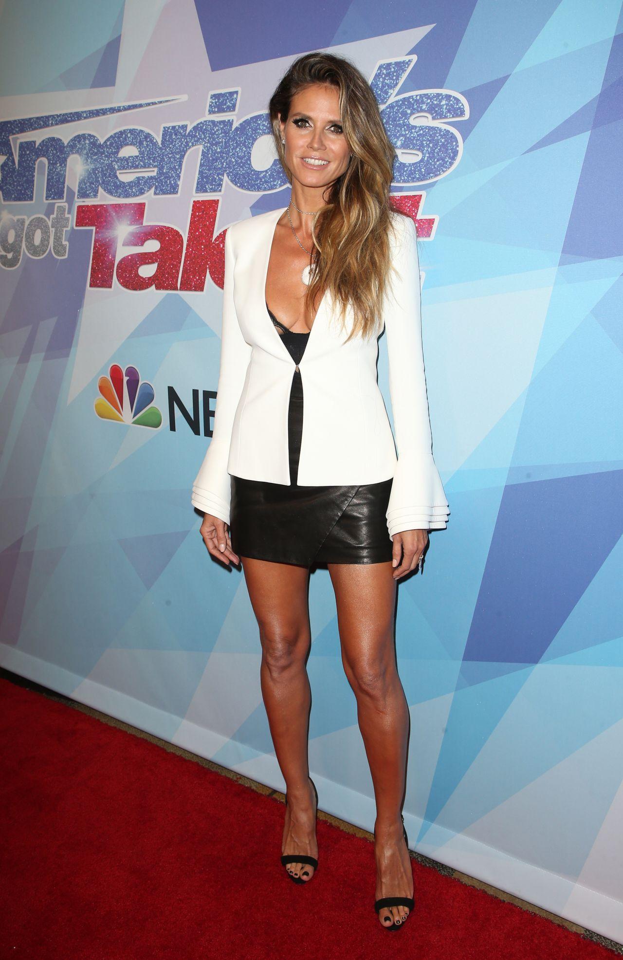 Heidi Klum Nbc S Quot America S Got Talent Quot Season 12 Semi