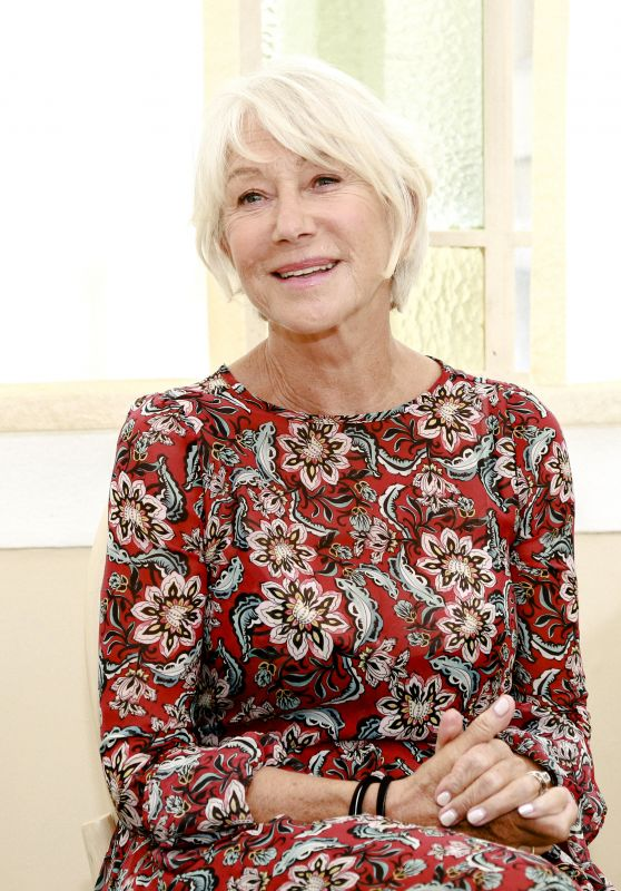 "Helen Mirren - ""The Leisure Seeker"" Press Conference at the Venice Festival 09/03/2017"