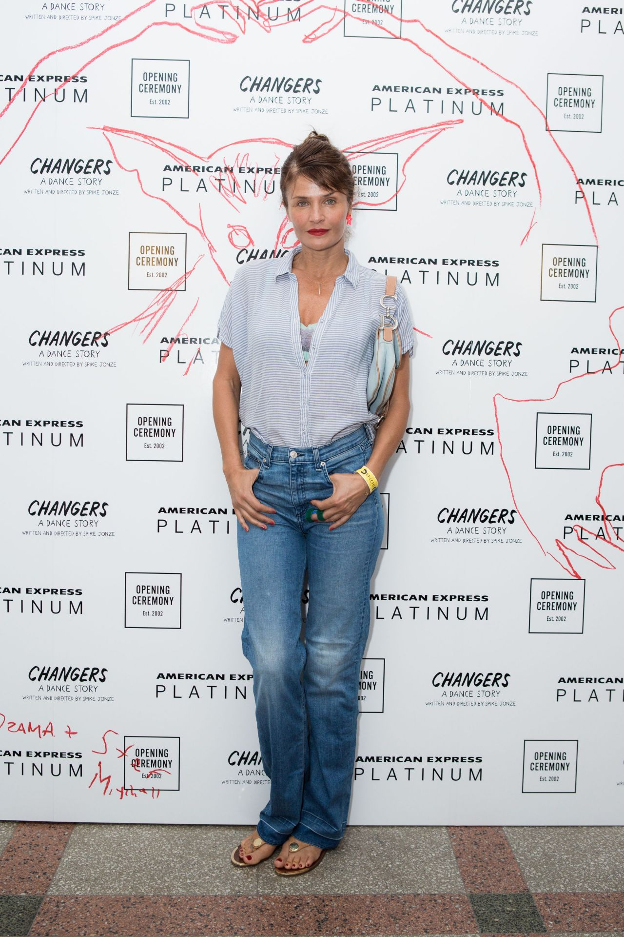 Helena Christensen – Front Row at Opening Ceremony RTW Spring 2018 – NYFW 09/10/2017