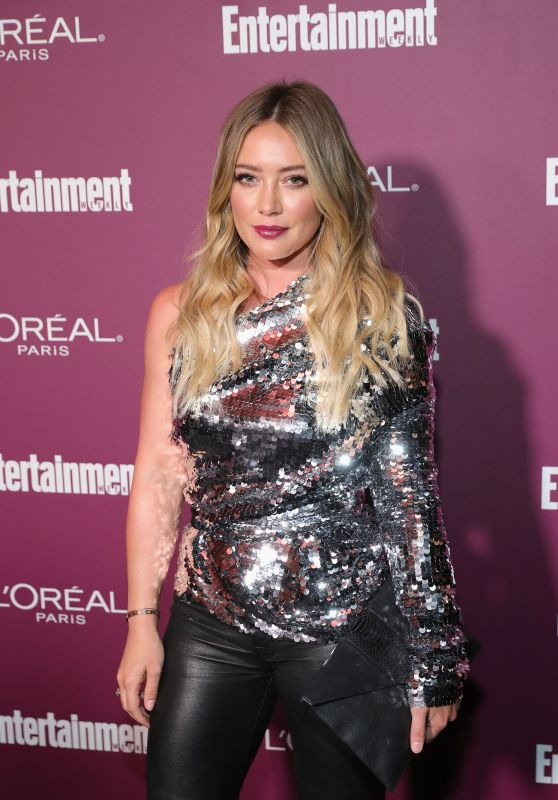 Hilary Duff – EW Pre-Emmy Party in Los Angeles 09/15/2017