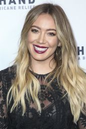 Hilary Duff - Hand in Hand: A Benefit for Hurricane Harvey Relief in LA 09/12/2017