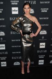 Hilary Rhoda – Harper's Bazaar ICONS Party in New York 09/08/2017