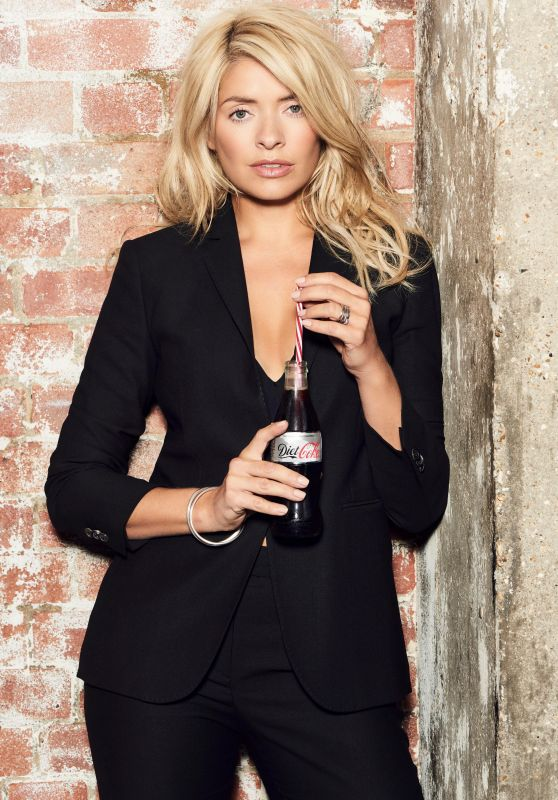 Holly Willoughby - Diet Coke Campaign Photoshoot, September 2017