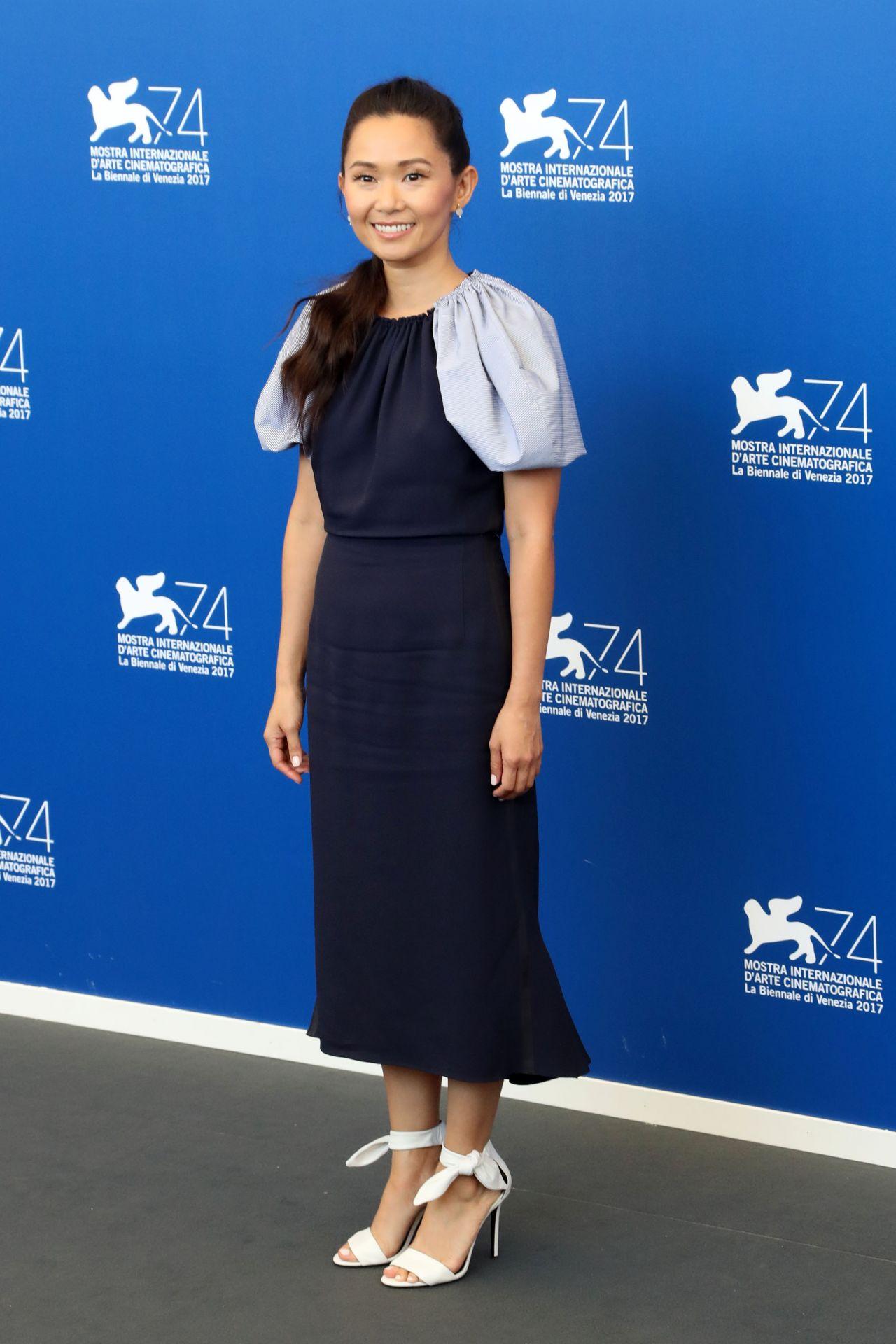 Hong Chau Downsizing Photocall At Venice Film Festival