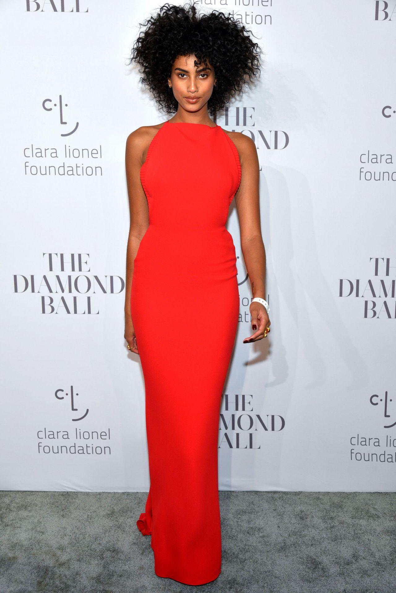 Imaan Hammam – Rihanna's Clara Lionel Foundation Diamond Ball in NY 09/14/2017