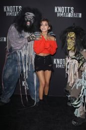 Isabela Moner – Knott's Scary Farm Celebrity Night in Buena Park 09/29/2017