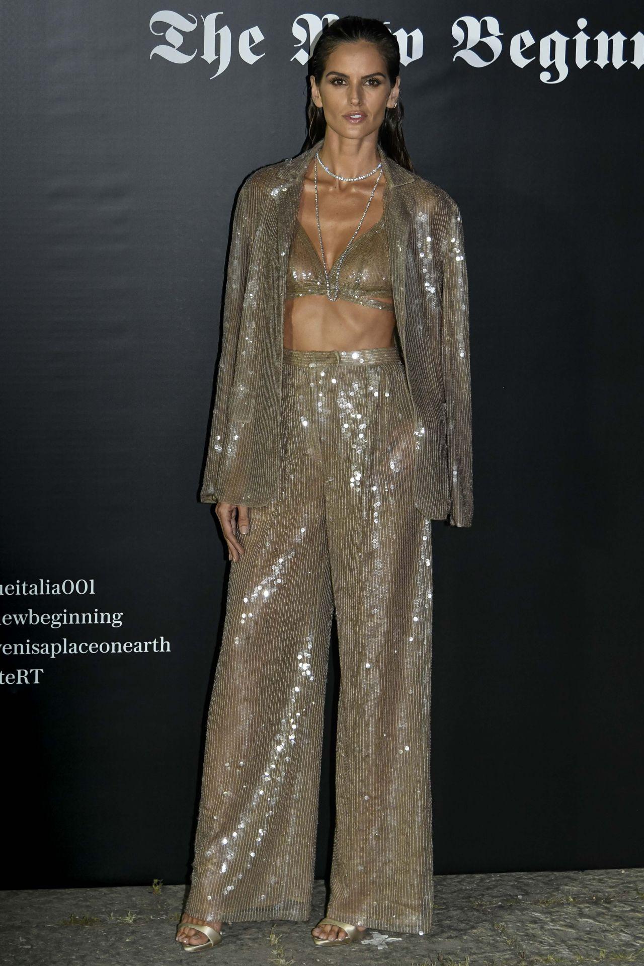 GEORGIA FOWLER at Fashion Week Parade in Milan 09/24/2017