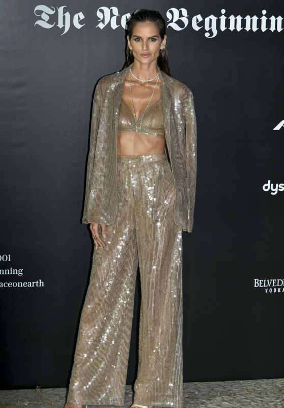 Izabel Goulart – Vogue Italia Party in Milan 09/22/2017