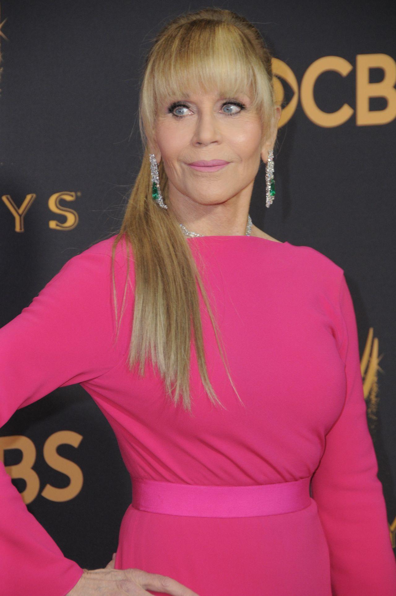 Jane Fonda Emmy Awards In Los Angeles 09 17 2017