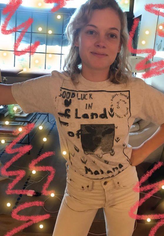Jane Levy - Social Media Pics, September 2017