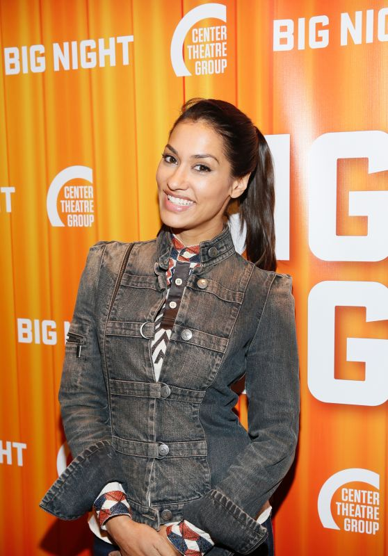 "Janina Gavankar – ""Big Night"" Center Theatre Group's Kirk Douglas Theatre Opening in LA 09/16/2017"
