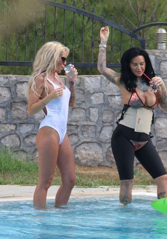 Jemma Lucy and Charlie Doherty - Holiday in Turkey 09/21/2017